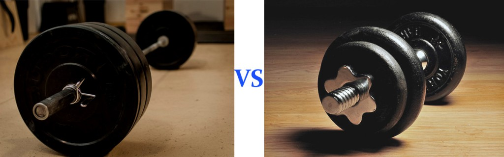 Barbells vs Dumbbells