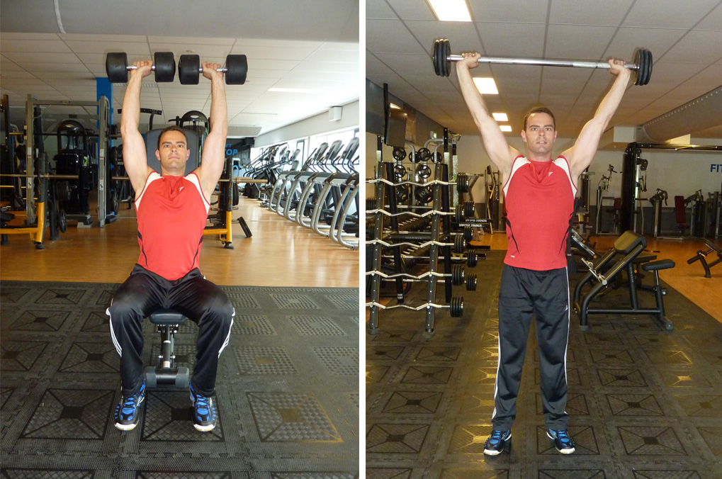 Military Press vs Dumbbell Shoulder Press