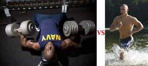 Strength or cardio first?