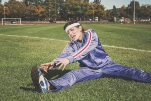 Static stretching injury prevention
