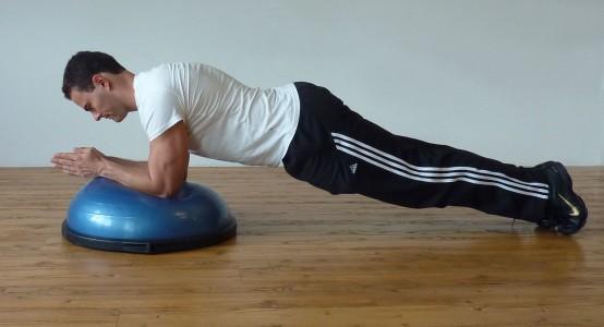 Side Plank Rotations Bosu Core Training | F...