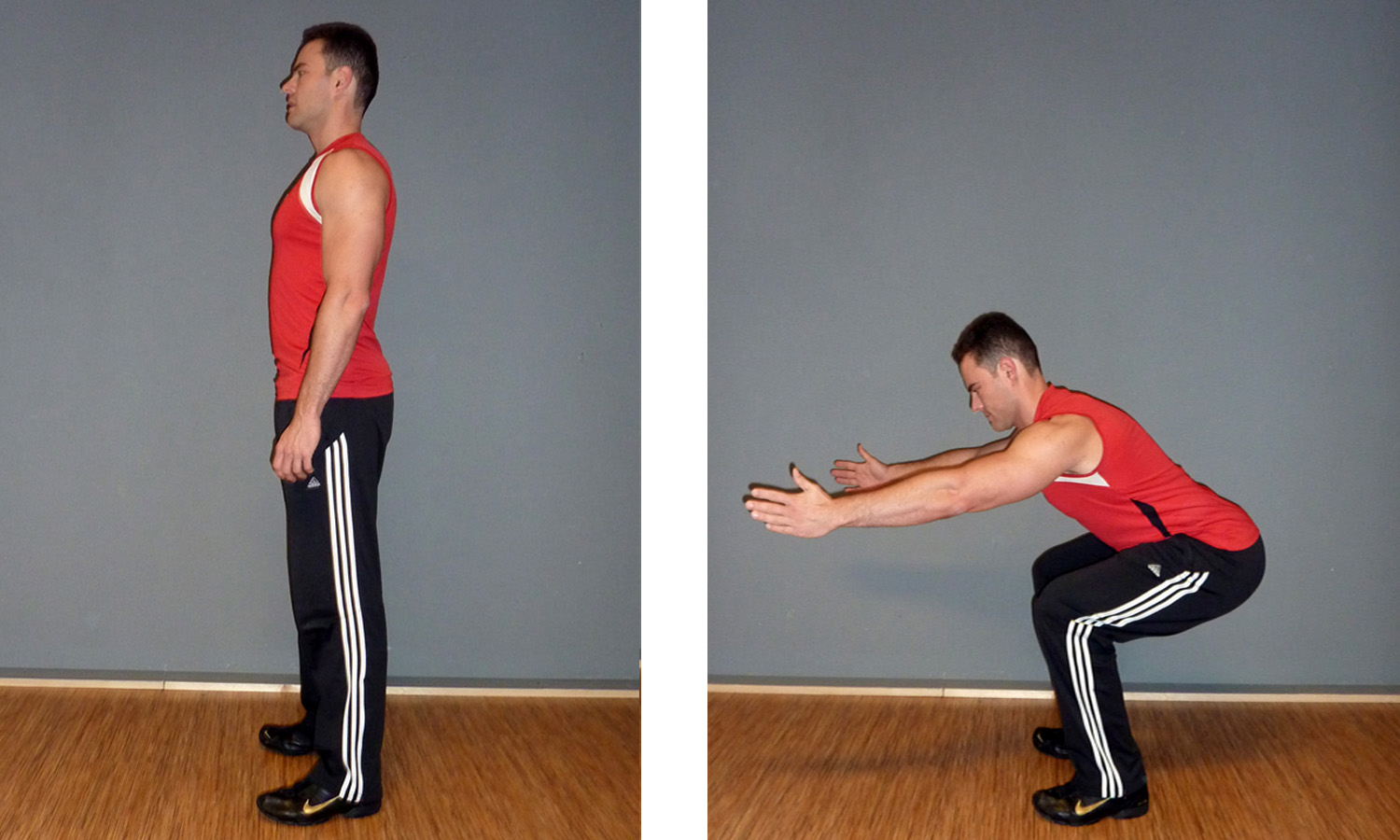 How to bodyweight squat