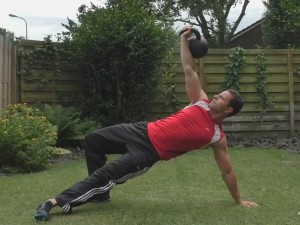 Kettlebell Circuit Turkish Getup